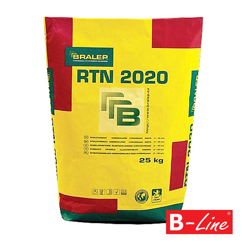 Samonivelační rychletvrdnoucí stěrka Bralep RTN 2020