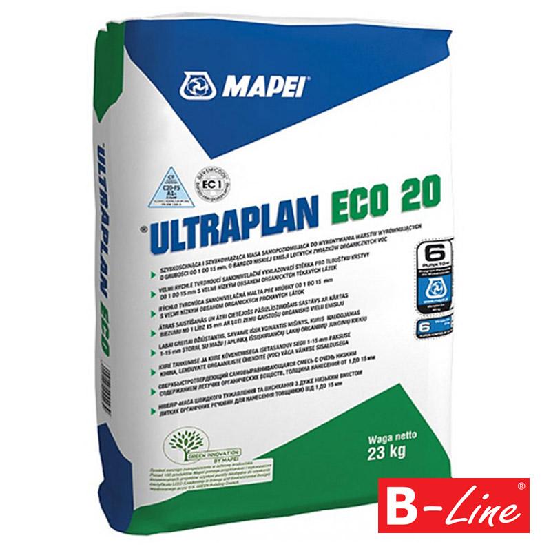 Samonivelační stěrka Mapei Ultraplan Eco 20
