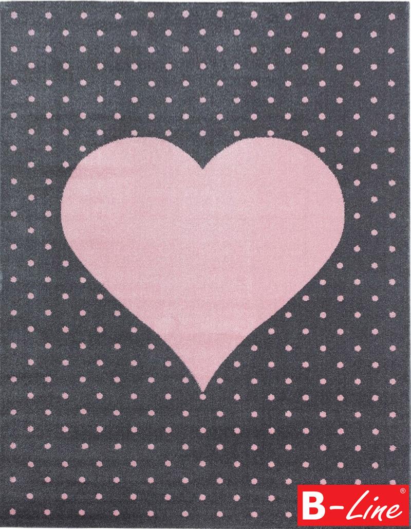 Kusový koberec Bambi 830 Pink