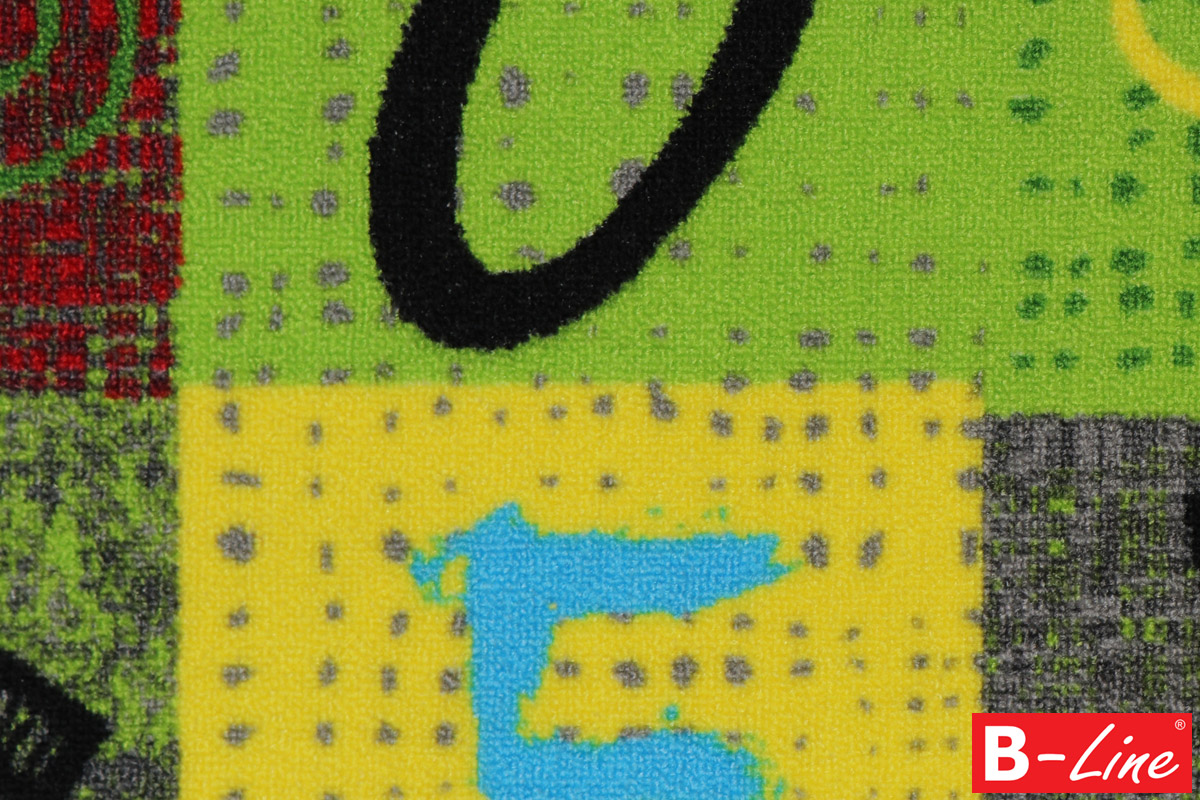 Koberec Alphabet 212