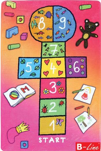 Dětský kusový koberec Skákací panák