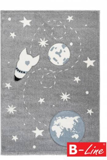Kusový koberec Amigo 330 Silver