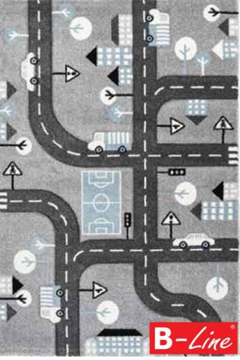 Kusový koberec Amigo 331 Silver