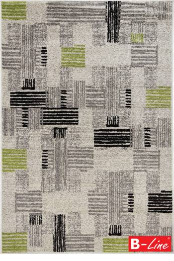 Kusový koberec Cosi 78447 Ivory/Green