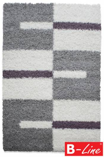 Kusový koberec Gala Shaggy 2505 Lila