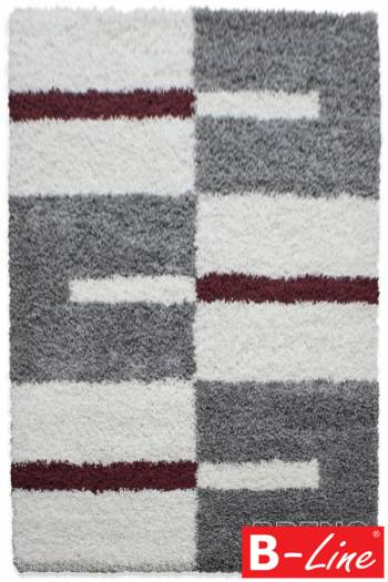 Kusový koberec Gala Shaggy 2505 Red