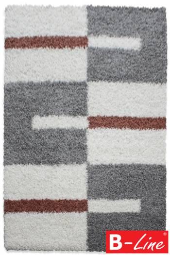 Kusový koberec Gala Shaggy 2505 Terra