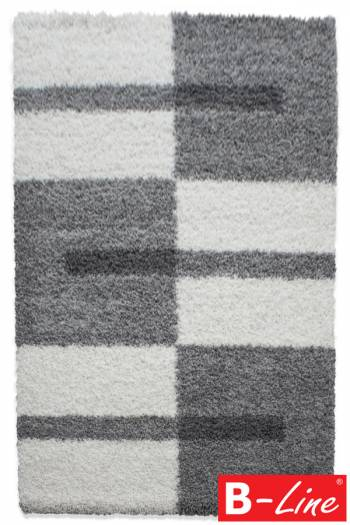 Kusový koberec Gala Shaggy 2505 Light Grey