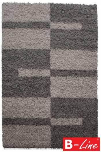 Kusový koberec Gala Shaggy 2505 Taupe