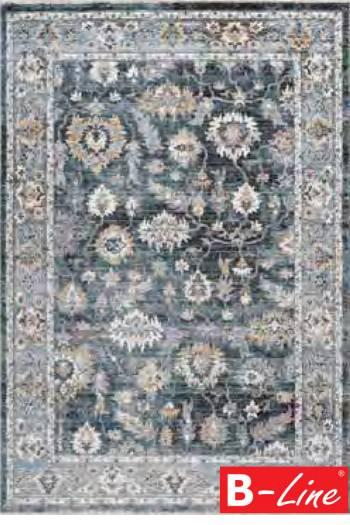 Kusový koberec Medellin 404 Silver-Blue