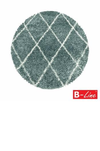 Kusový koberec Alvor Shaggy 3401 Blue/kruh