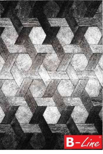 Kusový koberec Swing 101 Silver