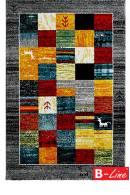 Kusový koberec Gabbeh 411 Silver