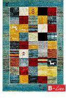 Kusový koberec Gabbeh 411 Turqouise
