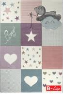 Kusový koberec Diamond Kids 24202/110