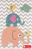 Kusový koberec Pastel Kids 48/SVS