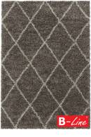 Kusový koberec Alvor Shaggy 3401 Taupe