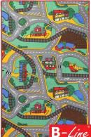Kusový koberec Playtime