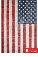 Kusový koberec Torino Flags 423 USA