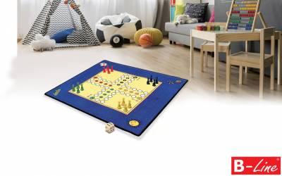 Dětský kusový koberec Člověče, nezlob se!