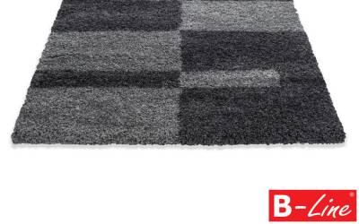 Kusový koberec Gala Shaggy 2505 Grey