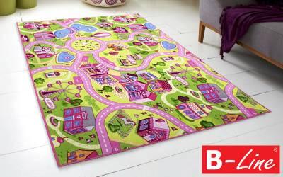 Dětský kusový koberec Sweet Town